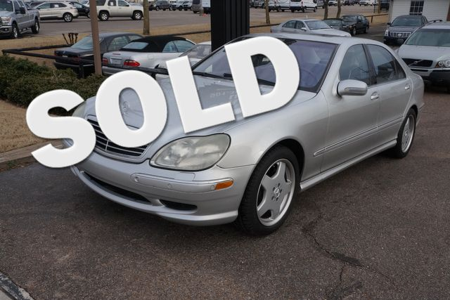 2002 Mercedes-Benz S500 5.0L Memphis, Tennessee