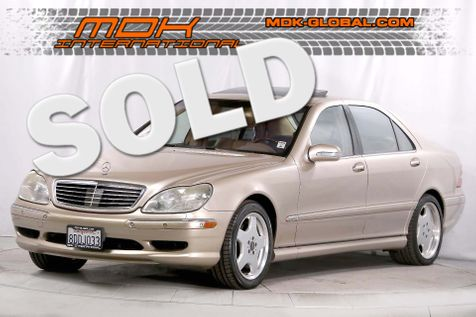 2002 Mercedes-Benz S600 6.0L - V12 - Top of the line model in Los Angeles
