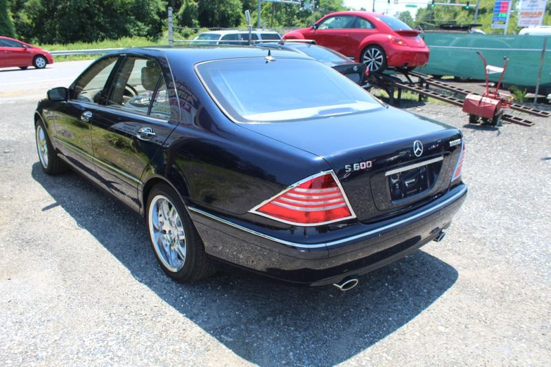 2002 Mercedes-Benz S600 60L  city MD  South County Public Auto Auction  in Harwood, MD