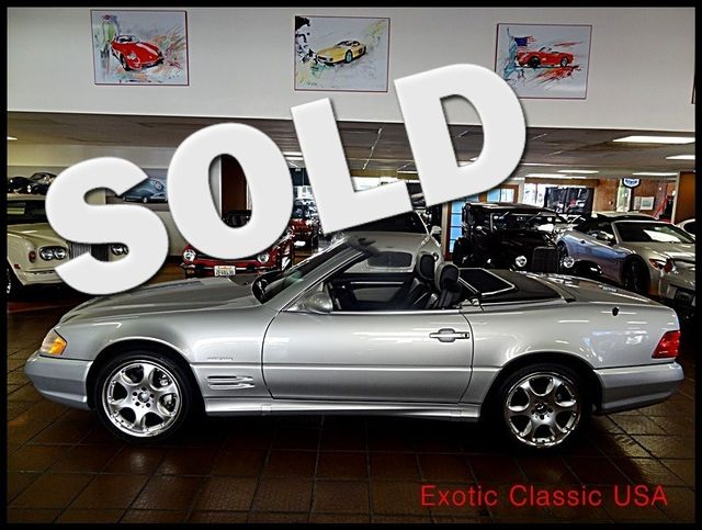 2002 Mercedes-Benz SL500  Silver Arrow Edition San Diego, California 0