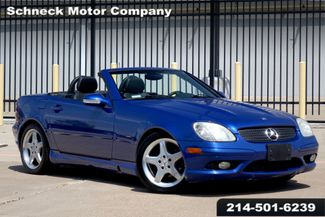 2002 Mercedes-Benz SLK230 2.3L Kompressor in Plano, TX 75093