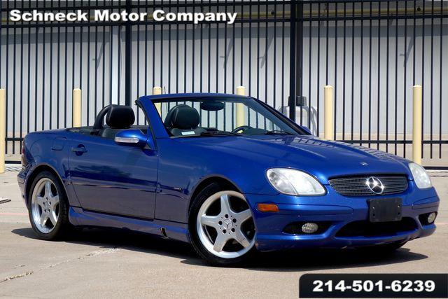 2002 Mercedes-Benz SLK230 2.3L Kompressor