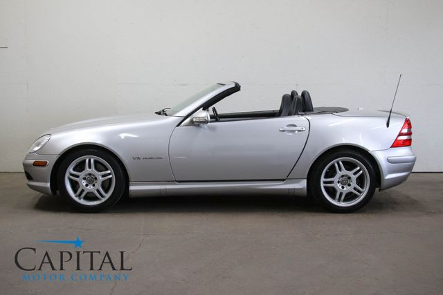 2002 Mercedes-Benz SLK32 AMG Roadster w/Supercharged V6, Heated Seats, Power Hardtop & AMG Rims in Eau Claire, Wisconsin 54703
