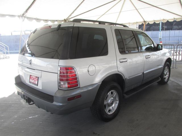 2002 Mercury Mountaineer Gardena, California 2