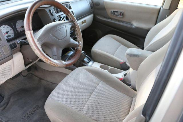 2002 Mitsubishi Montero Sport LS Santa Clarita, CA 8