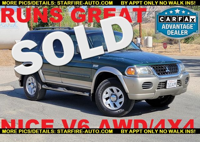2002 Mitsubishi Montero Sport XLS 4X4 AWD Santa Clarita, CA