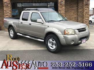 2002 Nissan Frontier SE 4WD in Puyallup Washington, 98371