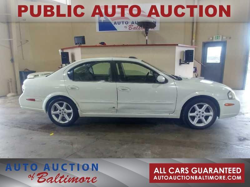 2002 Nissan Maxima SE   JOPPA, MD   Auto Auction of Baltimore  in JOPPA MD