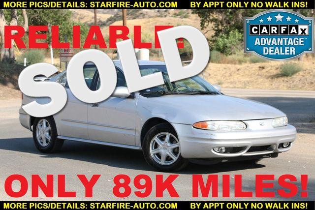 2002 Oldsmobile Alero GL1 Santa Clarita, CA 0
