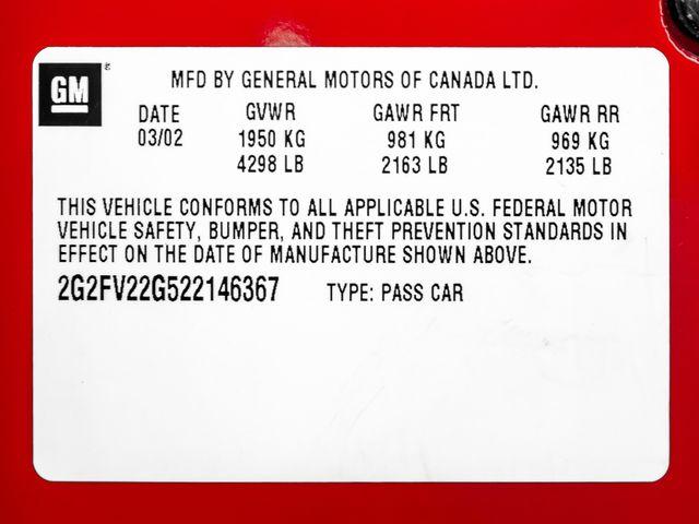 2002 Pontiac Firebird Trans Am WS6 Burbank, CA 24