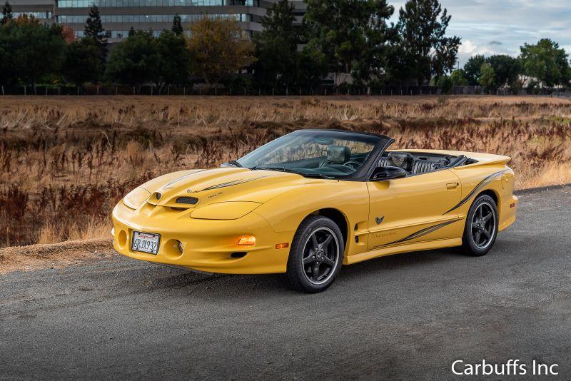2002 Pontiac Firebird Trans Am Collectors Edition   Concord, CA   Carbuffs