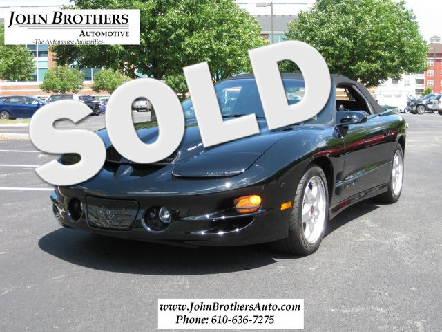 2002 Sold Pontiac Firebird Trans Am Conshohocken, Pennsylvania
