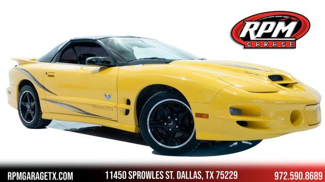 2002 Pontiac Firebird Trans Am WS6 Collectors Edition