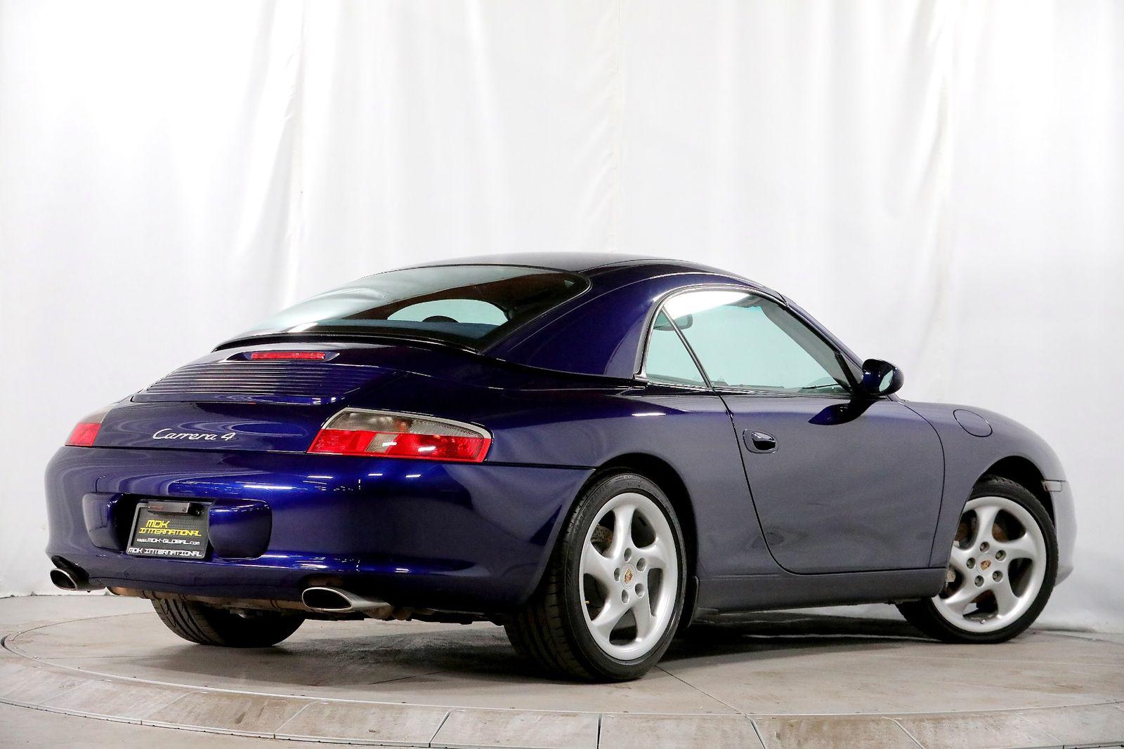 2002 Porsche 911 Carrera Manual Hardtop Xenon Headlights City