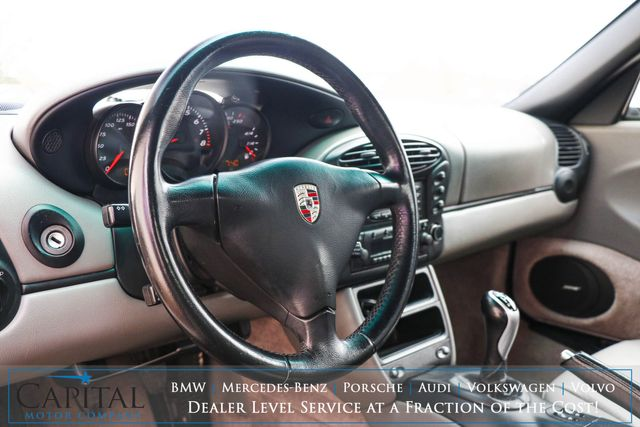 2002 Porsche Boxster Roadster w/Power Convertible Top, Sport Touring Pkg, BOSE Audio & 5-Speed Manual in Eau Claire, Wisconsin 54703
