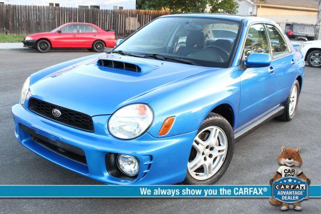 2002 Subaru IMPREZA WRX 57K MLS 1-OWNER SERVICE REDORDS