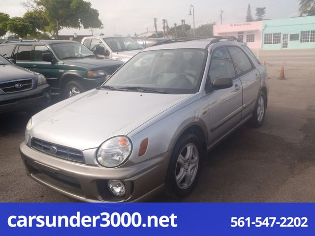 2002 Subaru Outback Sport Lake Worth , Florida 4