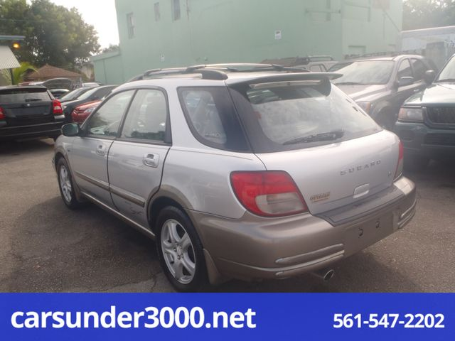 2002 Subaru Outback Sport Lake Worth , Florida 5