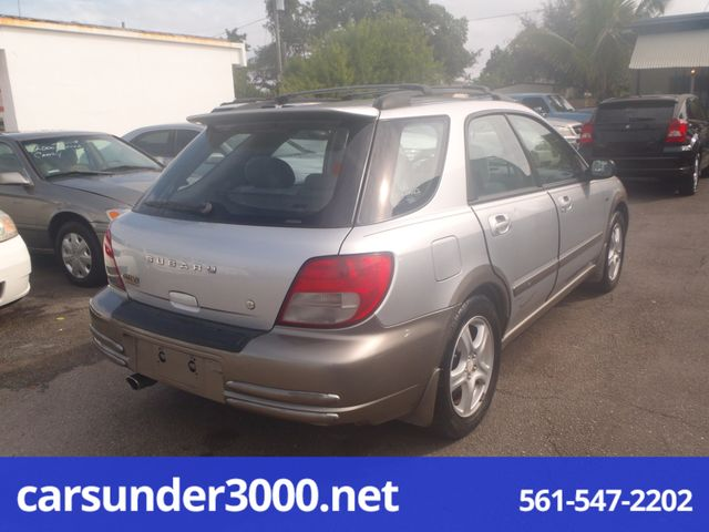 2002 Subaru Outback Sport Lake Worth , Florida 7