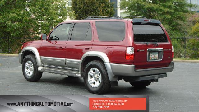 2002 Toyota 4Runner Limited Atlanta, Georgia 2