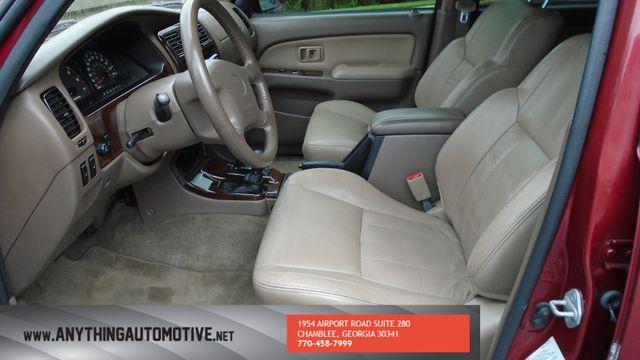 2002 Toyota 4Runner Limited Atlanta, Georgia 29