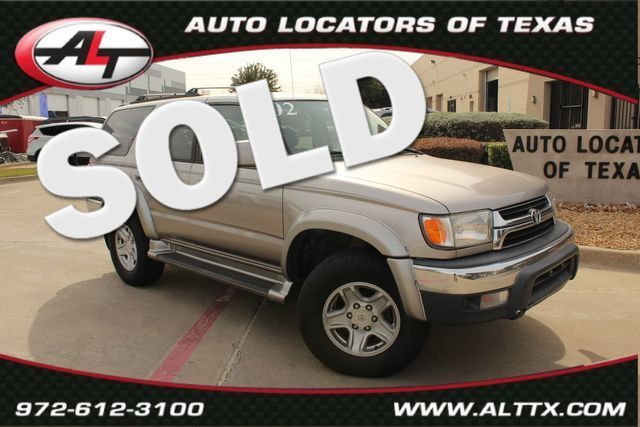 2002 Toyota 4Runner SR5 4x4 | Plano, TX | Consign My Vehicle in  TX
