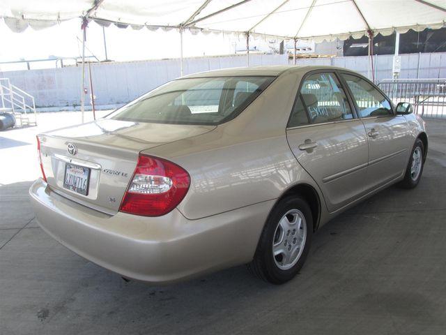 2002 Toyota Camry LE Gardena, California 2