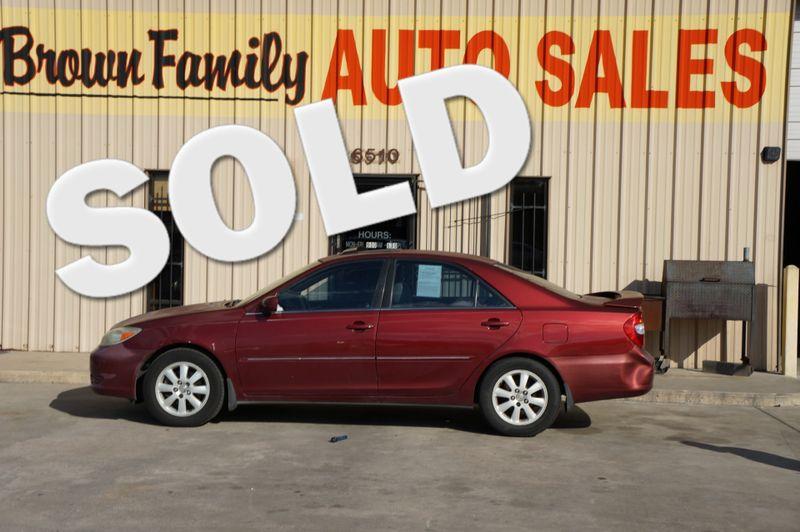 2002 Toyota Camry LE | Houston, TX | Brown Family Auto Sales in Houston TX
