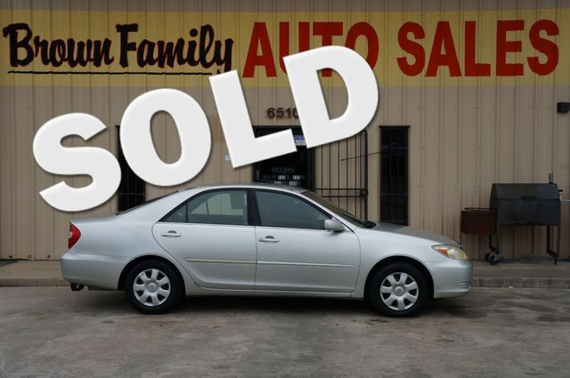 2002 Toyota Camry LE | Houston, TX | Brown Family Auto Sales in Houston TX