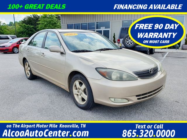"""2002 Toyota Camry LE Sunroof/16"""" Aluminum Wheels"""