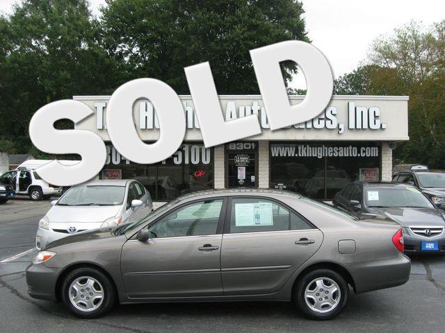 2002 Toyota Camry LE Richmond, Virginia