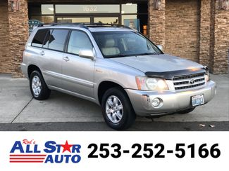 2002 Toyota Highlander V6 in Puyallup Washington, 98371