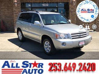 2002 Toyota Highlander V6 AWD in Puyallup Washington, 98371