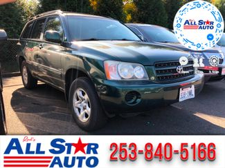 2002 Toyota Highlander Base in Puyallup Washington, 98371