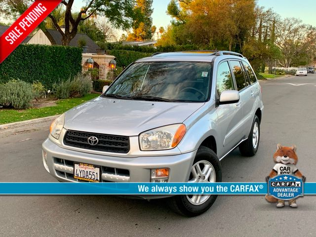 2002 Toyota RAV4 L SPORTS UTILITY 1-OWNER 46K MLS SUNROOF SERVICE RECORDS in Van Nuys, CA 91406