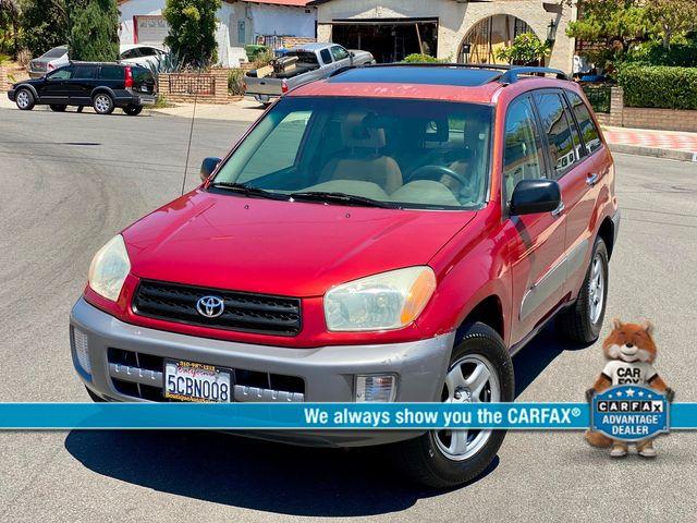 2002 Toyota RAV4 SPORT UTILITY AUTOMATIC NEW TIRES SERVICE RECORDS