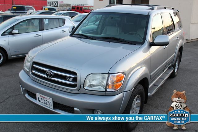 2002 Toyota Sequoia Limited ONE OWNER SERVICE RECORDS