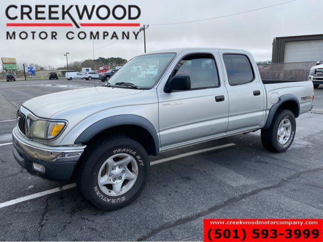 2002 Toyota Tacoma PreRunner 2wd Crew Cab LOW MILES Silver Nice TRD