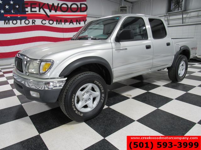 2002 Toyota Tacoma PreRunner 2wd Crew Cab LOW MILES Silver Nice TRD in Searcy, AR 72143