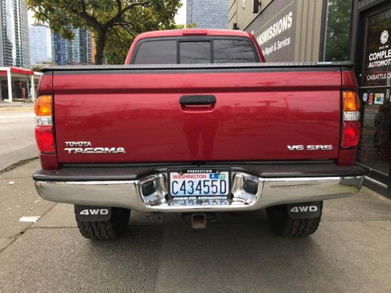 2002 Toyota Tacoma Double Cab 4X4 V6 SR5 And  Convenience Packages Local 2 Owner Full History  city Washington  Complete Automotive  in Seattle, Washington