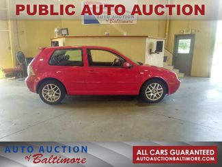 2002 Volkswagen GTI    JOPPA, MD   Auto Auction of Baltimore  in Joppa MD