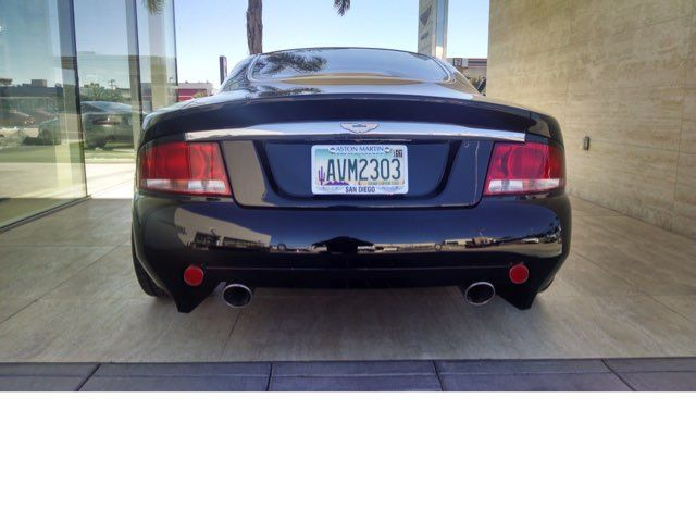 2003 Aston Martin Vanquish La Jolla, California 1