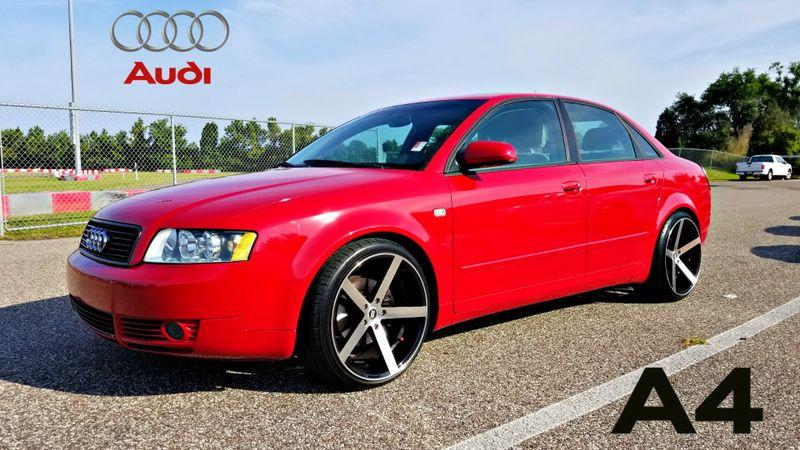 2003 Audi A4 1.8T MANUAL TURBOCHARGED CLEAN CARFAX | Palmetto, FL | EA Motorsports in Palmetto FL