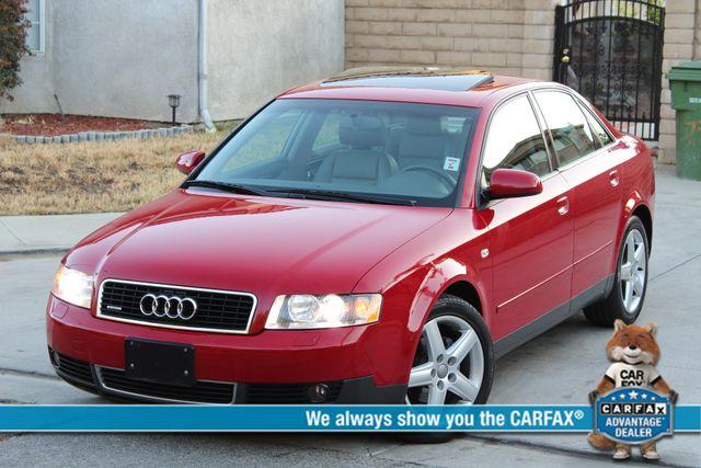 2003 Audi A4 1.8T SEDAN XENON SERVICE RECORDS XTRA CLEAN in Woodland Hills CA, 91367