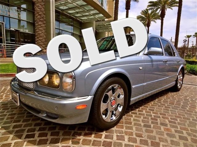 2003 Bentley Arnage R La Jolla, Califorina  0