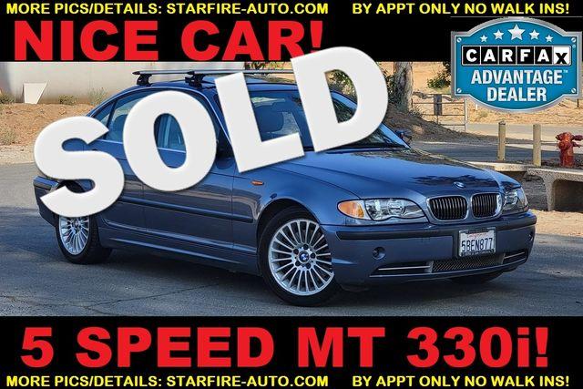 2003 BMW 330i 5 SPEED MANUAL