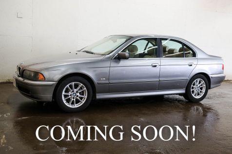 2003 BMW 5-Series 525i Luxury Sport Sedan with Heated Seats, Power Moonroof & Hi-Fi Audio in Eau Claire