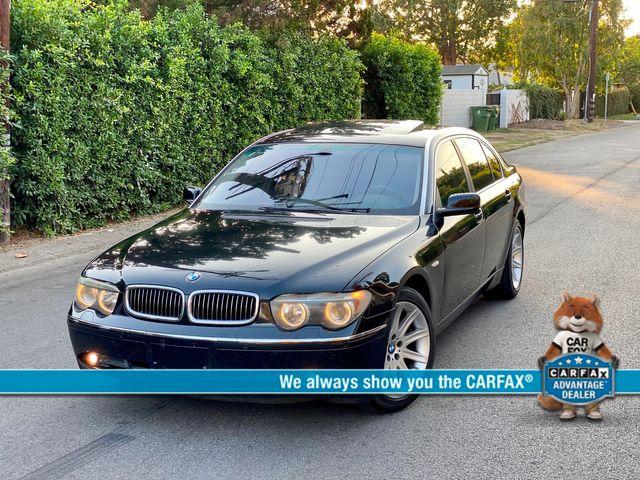 2003 BMW 745Li SEDAN AUTOMATIC NEW TIRES XLNT CONDITION SERVICE RECORDS