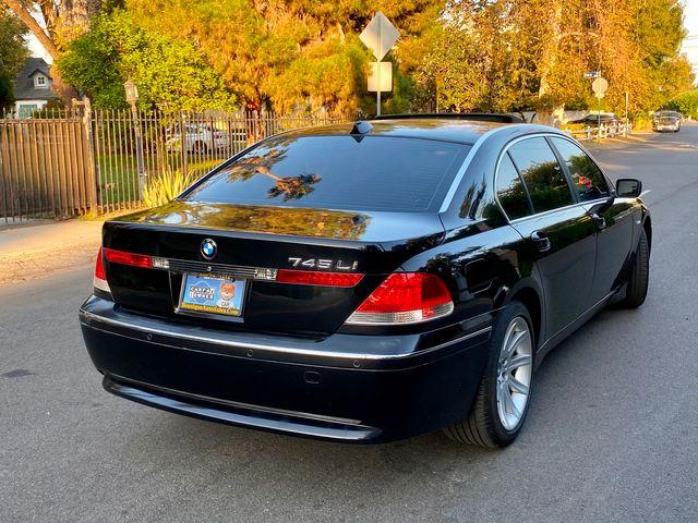 2003 BMW 745Li SEDAN AUTOMATIC NEW TIRES XLNT CONDITION SERVICE RECORDS in Van Nuys, CA 91406
