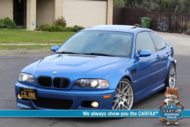 2003 BMW M Models M3 COUPE 6 SPEED MANUAL RARE ESTORIL BLUE CSL SERVICE RECORDS